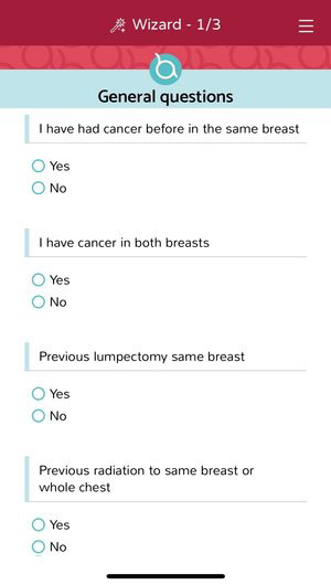 Breast Advocate® | Breast Cancer App | Treatment options Wizard