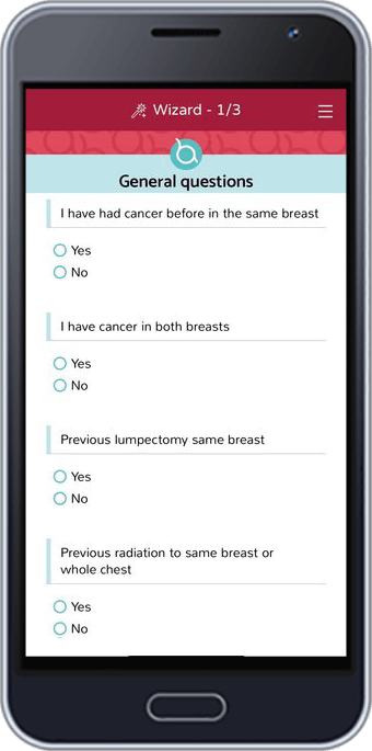 Breast Advocate® | Breast Cancer App | Treatment Wizard