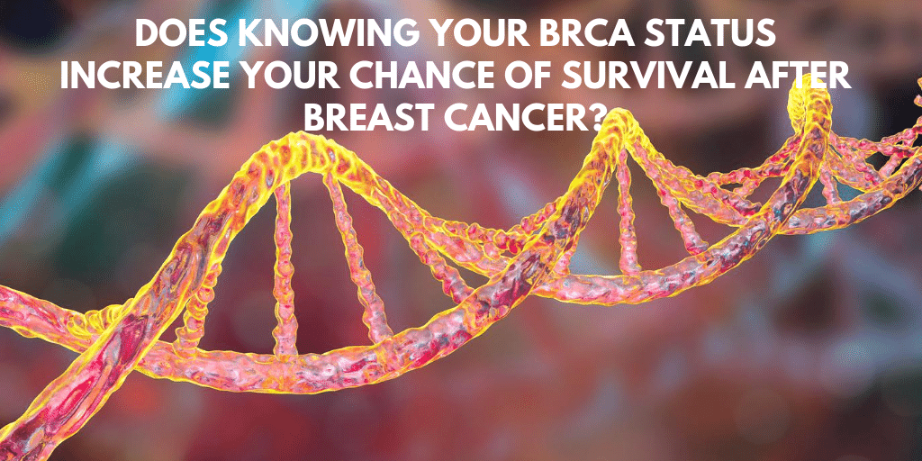 BRCA, breast cancer stage and survival