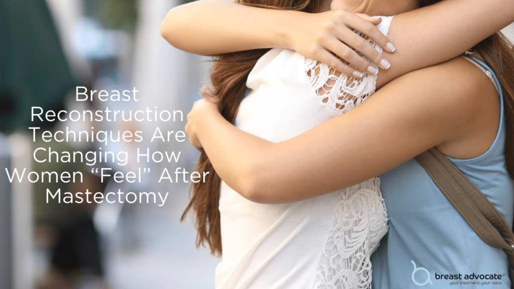 Restore feeling after a mastectomy